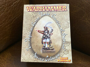 Sealed Boxed Warhammer Marco Colombo Ltd Edition Games Workshop Empire Columbo