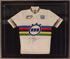 David Millar Autographed World Time Trial Champions Jersey with COA