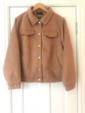 Marks and Spencer Coat, Brown/Tan, Size 24