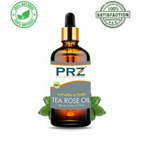 PRZ Tea Rose Essential Oil Pure Natural For Skin Care