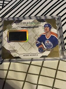 2017-18 ultimate collection hockey mark messier #UL-MM numbered to 15