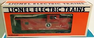 LIONEL O scale FF#3 GN Great Northern RR Extended Vision Caboose 19703 NIB