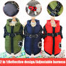 Jacket Winter Warmer Ski Suit Puppy Harness Pet Clothes Padded Coat Dog Vest