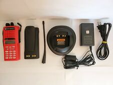 Motorola Ht1250 Uhf 403-470 Mhz Police Fire Ems Radio Aah25Rdh9Aa6An