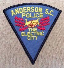 SC Anderson South Carolina Police Patch