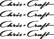 """4 Chris Craft Decals 16"""" FREE SHIPPING"""