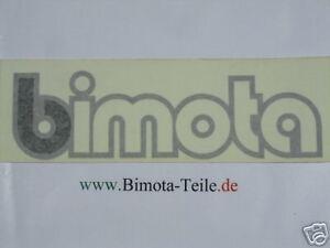 Bimota Schriftzug