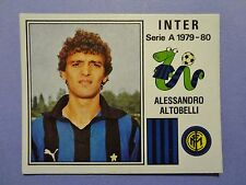 FIGURINA PANINI CALCIATORI INTER N.126 ALTOBELLI 1979-80 NEW-FIO