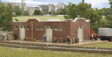 SANTA FE STYLE BRICK FREIGHT HOUSE - N SCALE CORNERSTONE KIT 933-3804