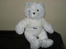 "Elegant Baby My Teddy Bear Dan White Sweater New NWT ElegantBaby Large 16"""