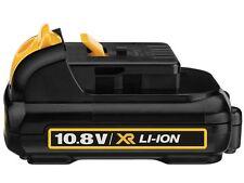 DeWalt DCB125 10.8v 10.8 v volt XR Li-Ion 1.3Ah Battery **BRAND NEW UK MODEL**
