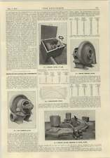 1915 Motordriven Blowers And Compressors Oerlikon