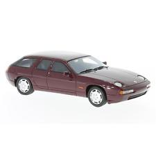 PORSCHE 928 H50 CONCEPT 1987 DARK METALLIC RED 1:43 Neo Scale Models Die Cast