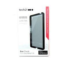 TECH21 CASE FOR SONY XPERIA Z5 EVO CHECK IMPACT PROTECT THIN BLACK NEW T21-5128