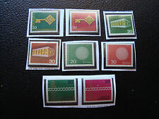 ALLEMAGNE (rfa) - 8 timbres europa n** (A22) stamp
