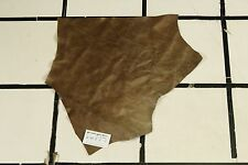 """Country Wagon"" Brown Scrap Leather Hide Approx. 2.25 sqft. G91Z2-7"