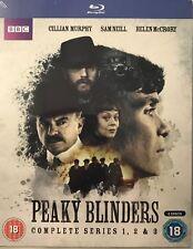 Peaky Blinders - Complete Season 1/2/3 BBC (6xBluRay) *NEW & Sealed*