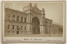 Palais de l'Industrie Paris Photo Vintage Albumine vers 1880
