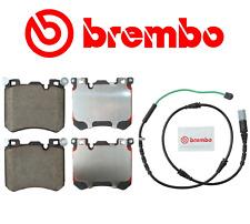 Front Brake Pads Pad Set Ceramic Brembo Original + Sensor BMW X5 X6 M