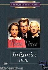 DVD These Three [ The Children's Hour  / Infamia ] [ 1936 ] [ NTSC ] Region ALL