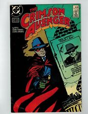 The Crimson Avenger # 1 Comic Book 1988 DC Comics