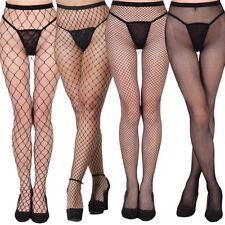 Sexy Black Pantyhose Stockings Fishnet Plus Size AU 6-18 High Quality