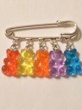 Gummy Bear Kilt Pin Brooch