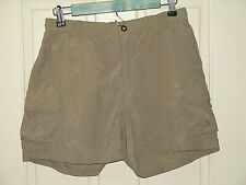 c340063369 The North Face Womens Size M (28-30) Brown Cargo Shorts 57-