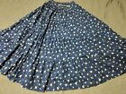 Square Dance Skirt Tiered Patriotic Stars Square Dance Skirt Small 80s