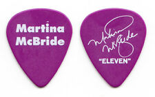 Martina McBride Signature Purple Guitar Pick - 2011 Eleven Tour