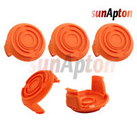 5 Pack Spool Cap Cover Rep Worx 50006531 WA6531 For Cordless Grass Trimmer WG151