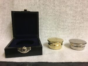 Budget Pyx in brass or Nickle plated, optional storage case