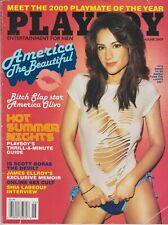 Playboy June 2009-B PMOY IDA LJUNGQVIST– CANDICE CASSIDY – AMERICA OLIVO NUDE!!!