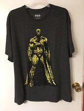 Mens x-large Batman gray shirt