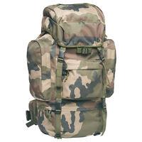 Sac a dos Commando en tissu Camouflage réglementaire armée française - 65 Litres