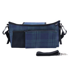 Pram Bag / Handlebar Organiser with Nappy Bag Compartment and Detachable Purse
