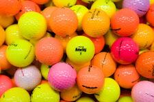 20 Mixed Colour Golf Balls Near Mint & AAA / Standard Grade