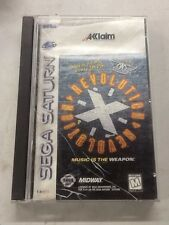 Revolution X (Sega Saturn) Fully Complete In Box, Aerosmith Working