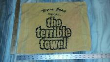 """MYRON COPES OFFICIAL THE TERRIBLE TOWEL GOLD VINTAGE EDITION 18.5""""x14"""" inches"""