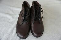 Finn Comfort Sofia Winter Schuhe Stifel Boots gefüttert Gr.37,5 Braun Leder NEU