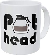 Pot Head Ounces Funny Coffee Mug