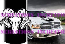 Hood Truck Decal Mopar Stickers Racing Fits Hemi Dodge Ram Head Unofficial