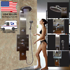 Top Quality Bathroom Shower Panel Hydrotherapy Massage System Stainless steel