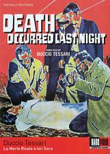 LA MORTE RISALE A IERI SERA (DVD, 2014)
