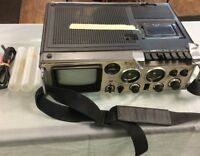 Reader's Digest TV Radio Cassette AM FM VHF T509