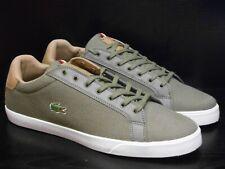 e21a7f2c96 Lacoste Grad Vulc 317 1 Fle Spm Kaki Tennis Hommes Chaussure Taille UK 8