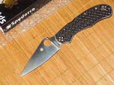 "Spyderco C67GFP ""R"" Nishijin Glass Fiber knife - Sprint Run - Discontinued - NEW"
