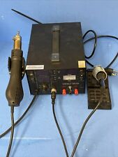 Yihua 853d 1a Hot Air Soldering Iron Rework Station Desolder Handle 3in1