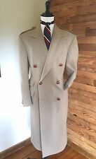 "Rarest Vintage POLO RALPH LAUREN ""British Warm"" 42L Topcoat Coat"