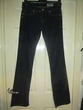 FORNARINA Dark Blue Straight Leg Jeans    W 28 L 34  Brand New